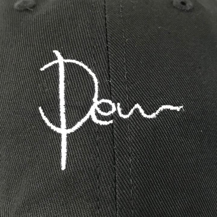 キャップ<br>【ロゴ刺繍】<br>前面中央・縦4cm